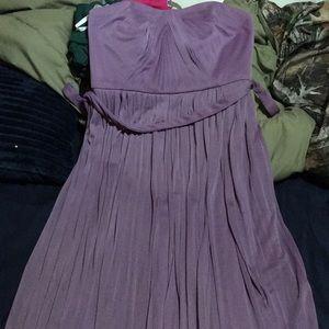 Lavender Formal/Bridesmaid Dress